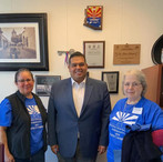meeting with Rep Cesar Chavez