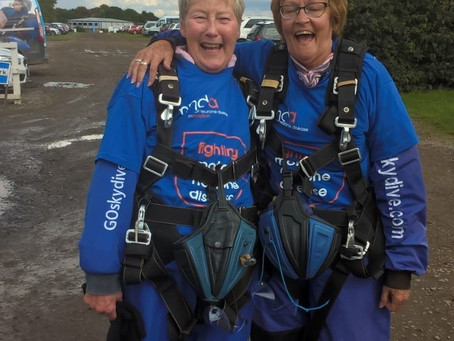 Jean & Peggy's Skydive