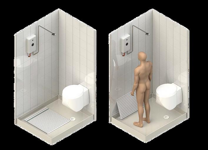 Drizamat | Combo Shower Demonstration