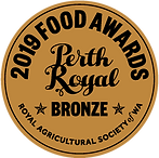 Bronze Award - Perth Royal Show