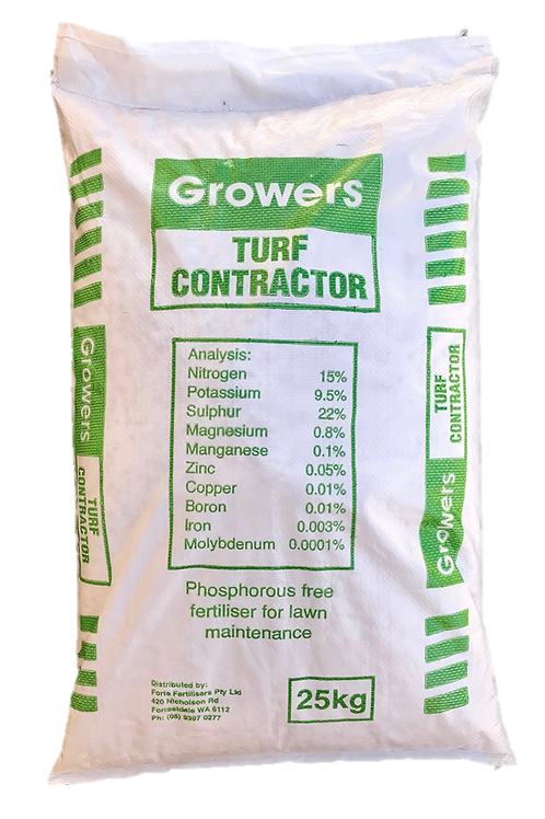 Turf Contractor Fertiliser