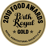 Gold Award - Perth Royal Show