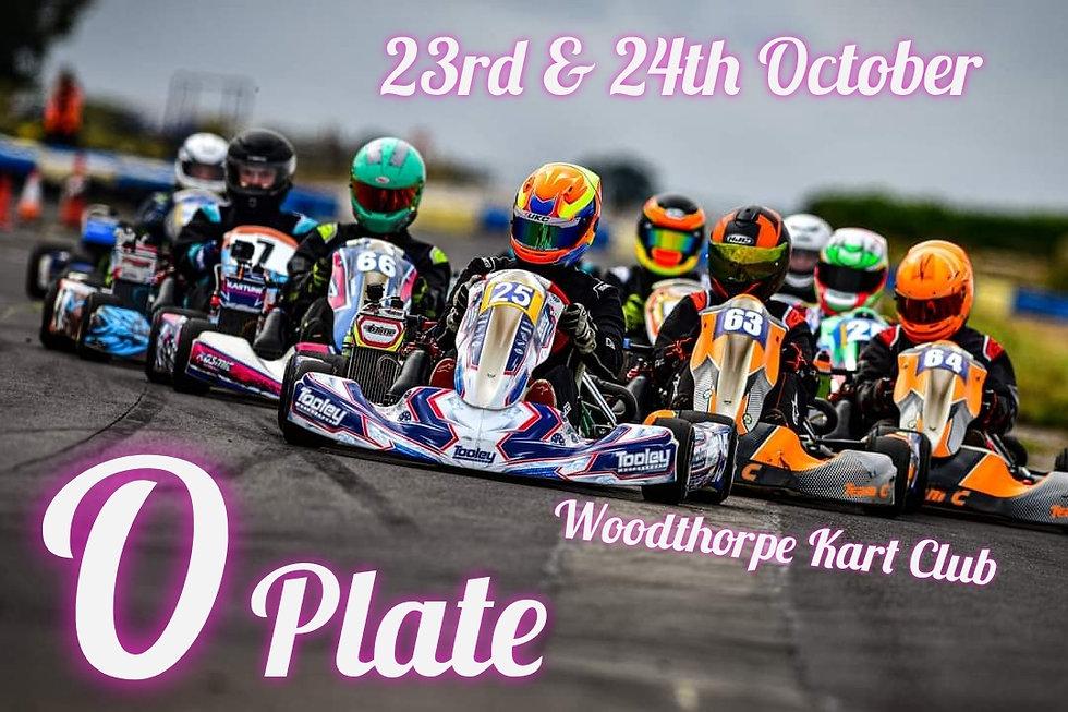 Woodthorpe Kart Club O plate