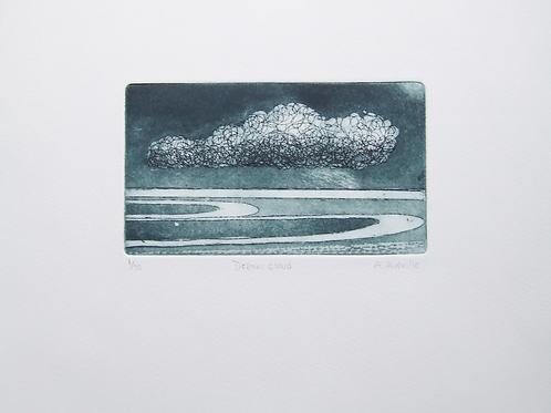 'Sea Cloud' etching