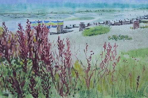 'Winchelsea Summer' monoprint