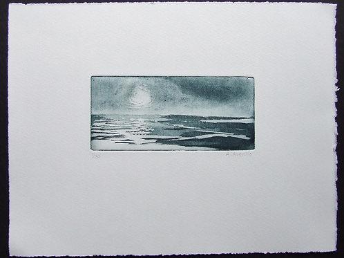 'Sunlit' etching