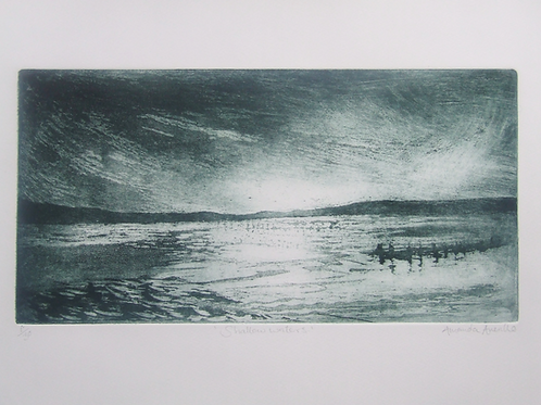 'Shallow Waters' etching
