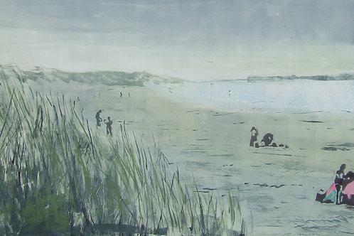 'Camber Dunes' monoprint