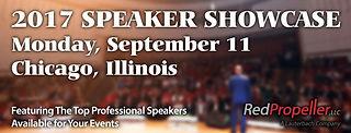Banner ad for speaker showcase.