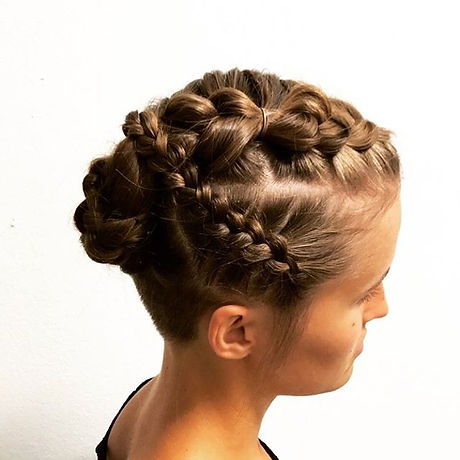 I love braids! There is so many endless ways of braiding hair. My favorite!!! ._._.jpg