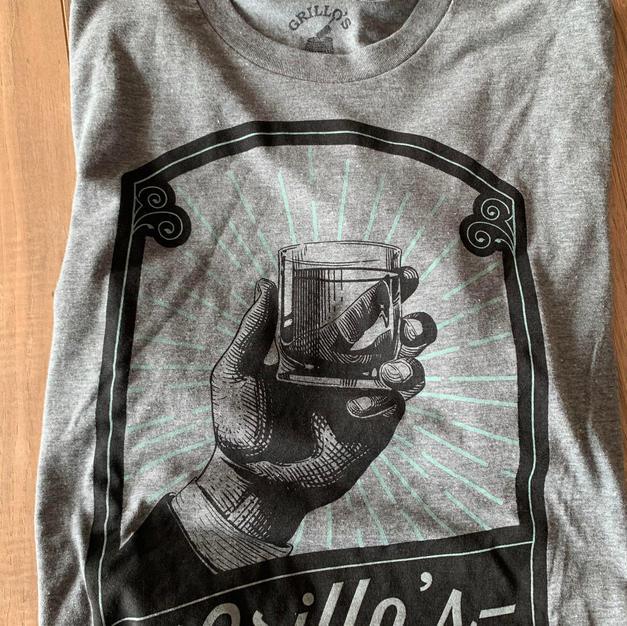 Whiskey Glass T-Shirt