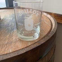 Hi-ball Logo Glass