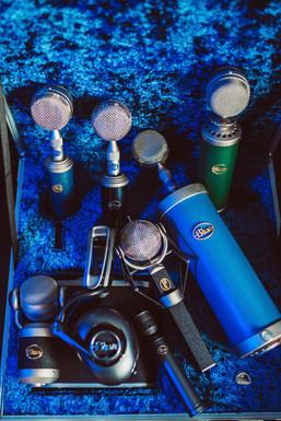 Multiple Blue Mics