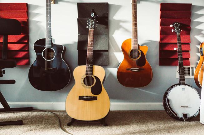 Acoustic Taylor, Martin & Alvarez