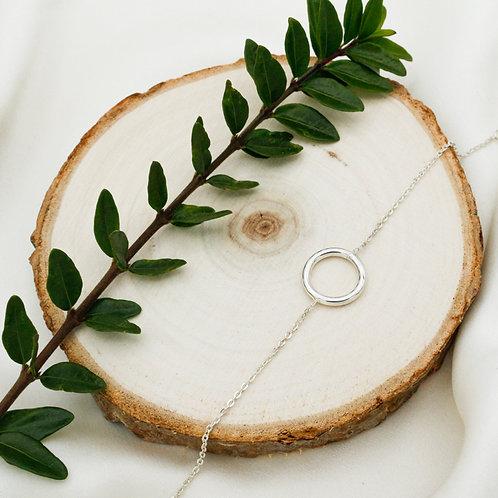 Bracelet cercle en argent 925