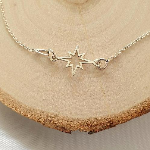 """Bracelet en argent 925 """"étoile"""""""
