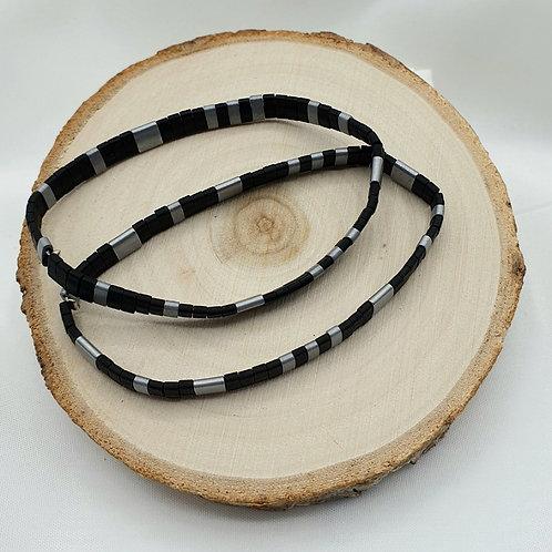 Composition de 2 bracelets en perles Miyuki