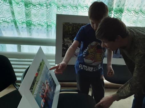 Фотовыставка в детском доме с.Некрасовка