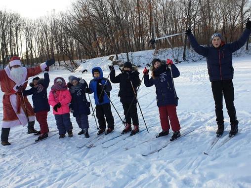 Лыжные покатушки в с.Мичуринское
