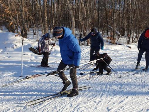 Лыжная прогулка по Воронежу