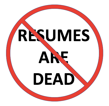 Resumes Are Dead - Personal Brands Are The Future