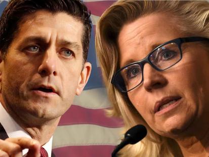 Paul Ryan & Liz Cheney 2024 President/VP Ticket