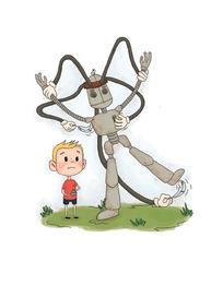 Lucas builds a crazy tickle machine.png