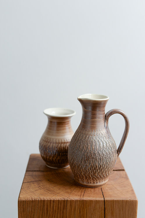 Oil and vinegar set by Tony Bristow