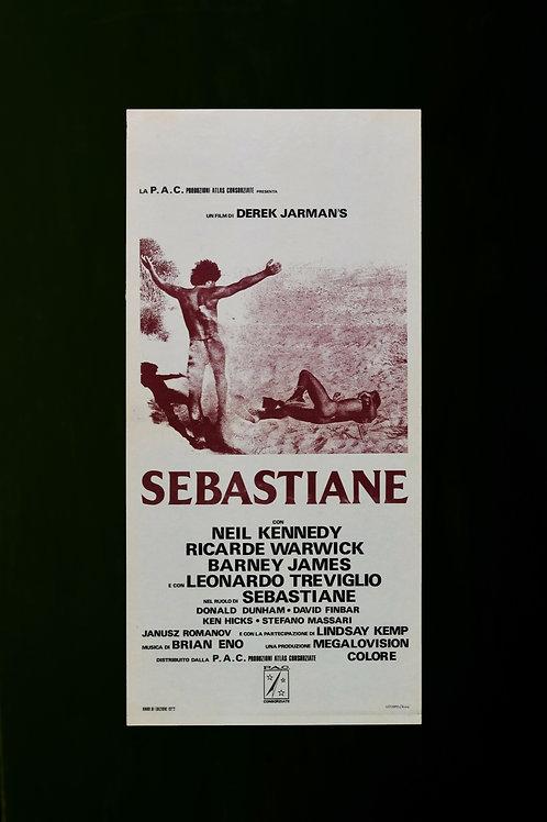 Sebastiane cinema poster