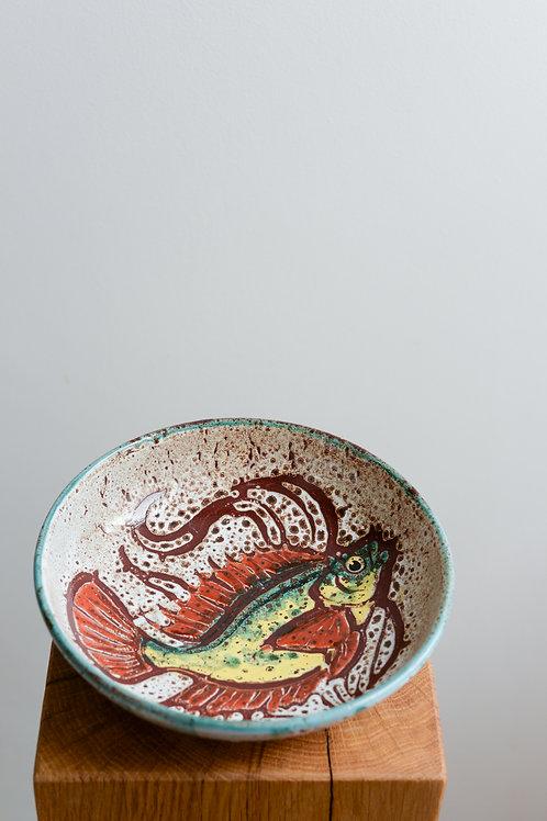 Set of 6 Vallauris bowls