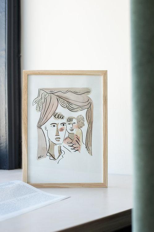 Figurative Watercolours by Eric Leroux