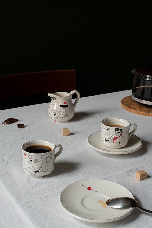 Coffee set by Alessandro Merlin