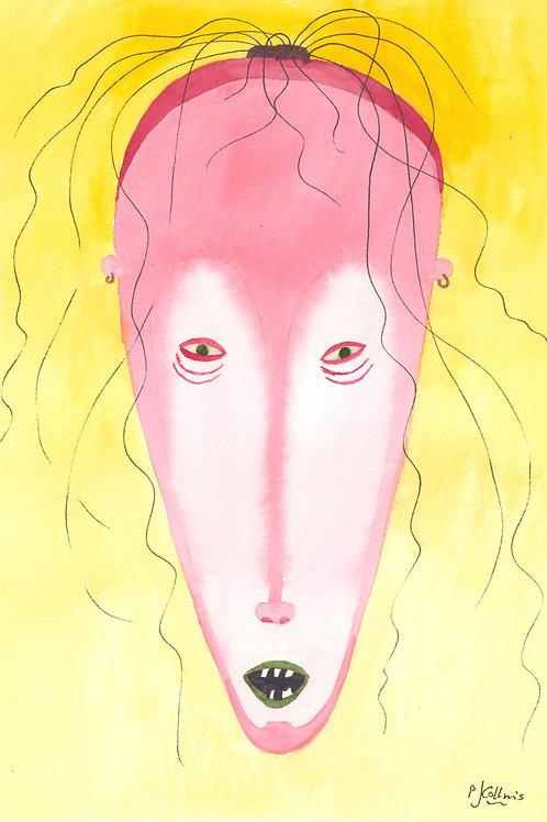 Menacing heads by P.J. Collins