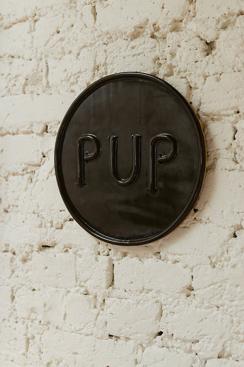 PUP plate by Will Martin