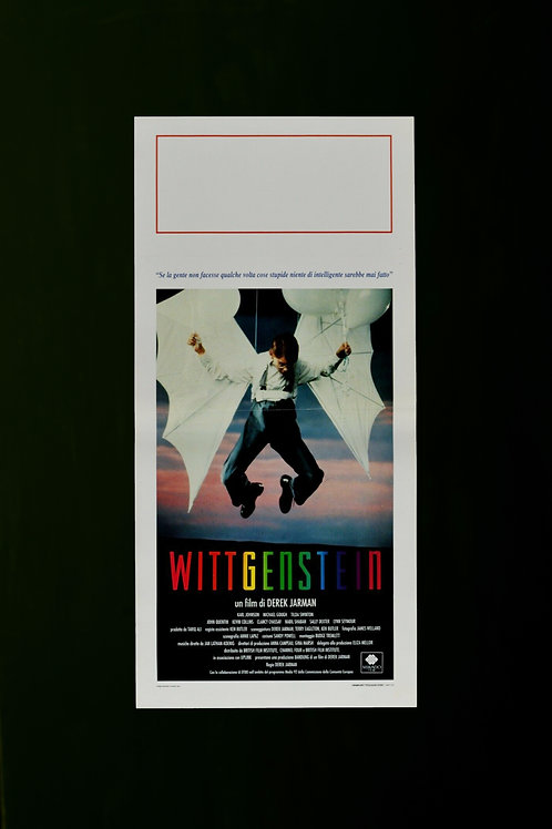 Wittgenstein cinema poster