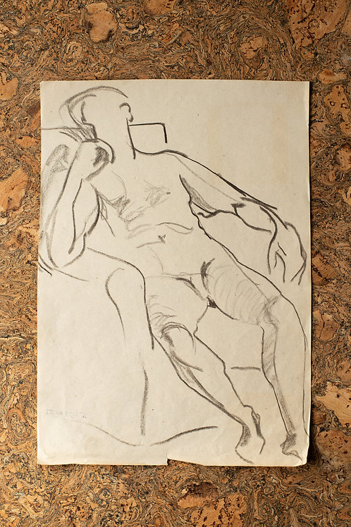 Charcoal by Frank Griffith