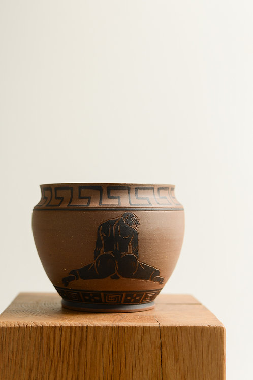'Presenting' Plant Pot by Sid Henderson