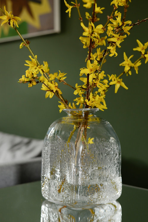 Bark vase by Christer Sjögren for Lindshammar