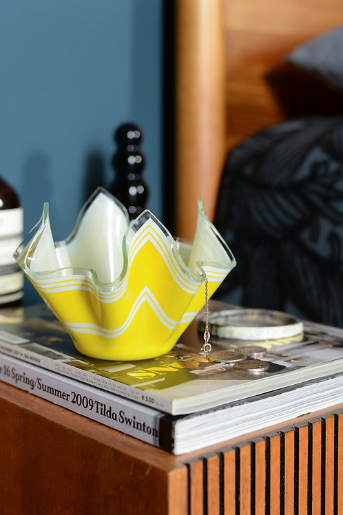 Vintage handkerchief bowls