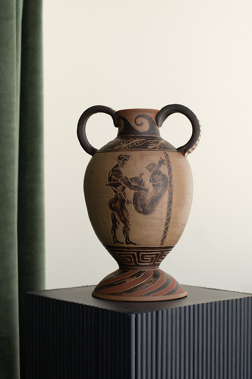 Terracotta amphoras by Sid Henderson