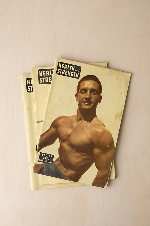 Vintage issues of Health and Strength