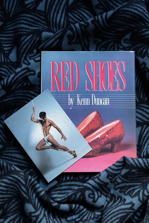 Studio 54 invitation and Kenn Duncan book