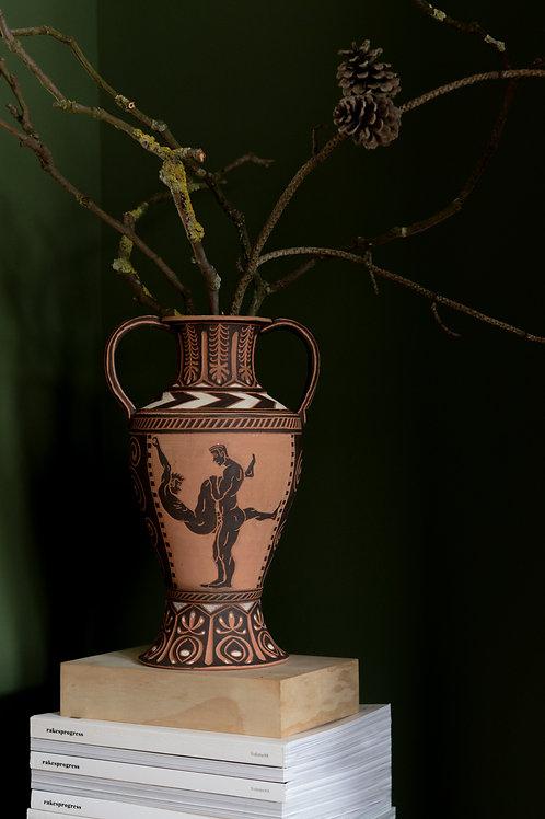 Terracotta amphora by Sid Henderson