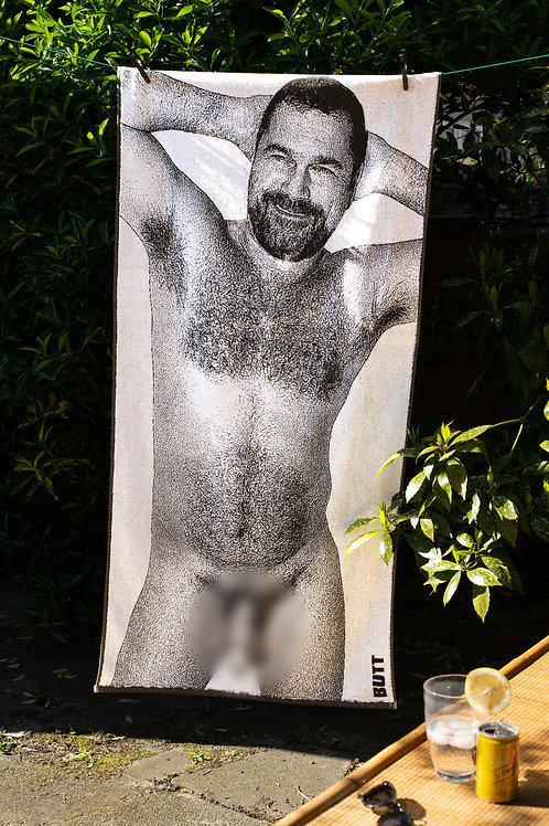 BUTT beach towel