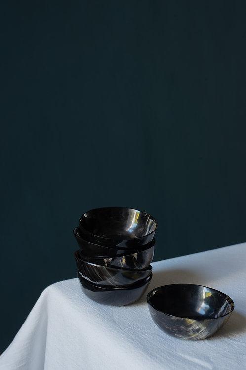 Buffalo horn bowls