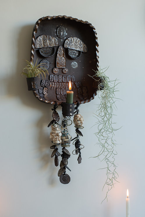 Genderqueer deity by Rachael House