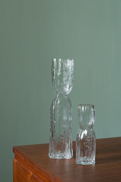 Set of two vases by Christer Sjögren for Lindshammar