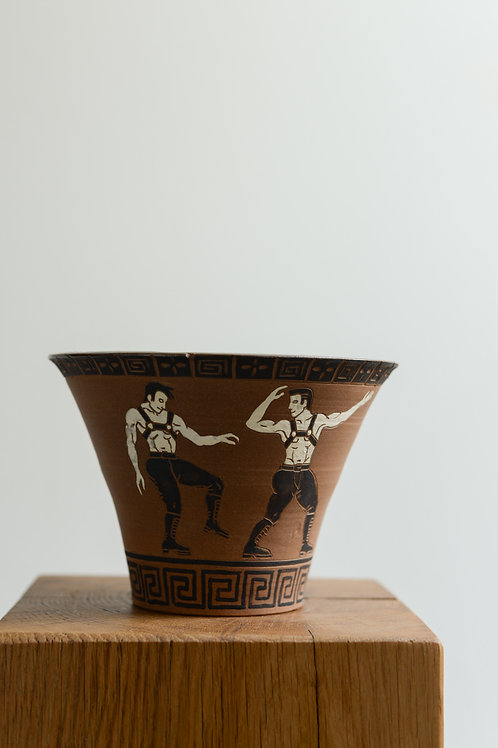'Leather, Rinse, Repeat' Plant Pot by Sid Henderson