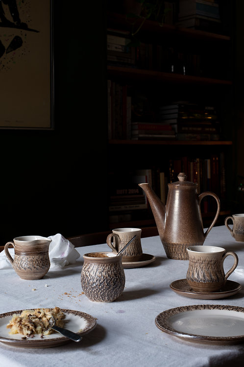 Bristow pottery tea/ coffee set