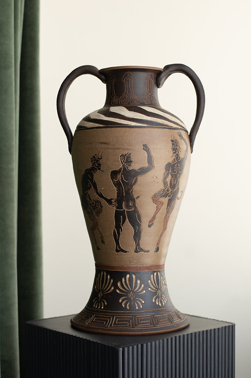 Large terracotta amphora by Sid Henderson